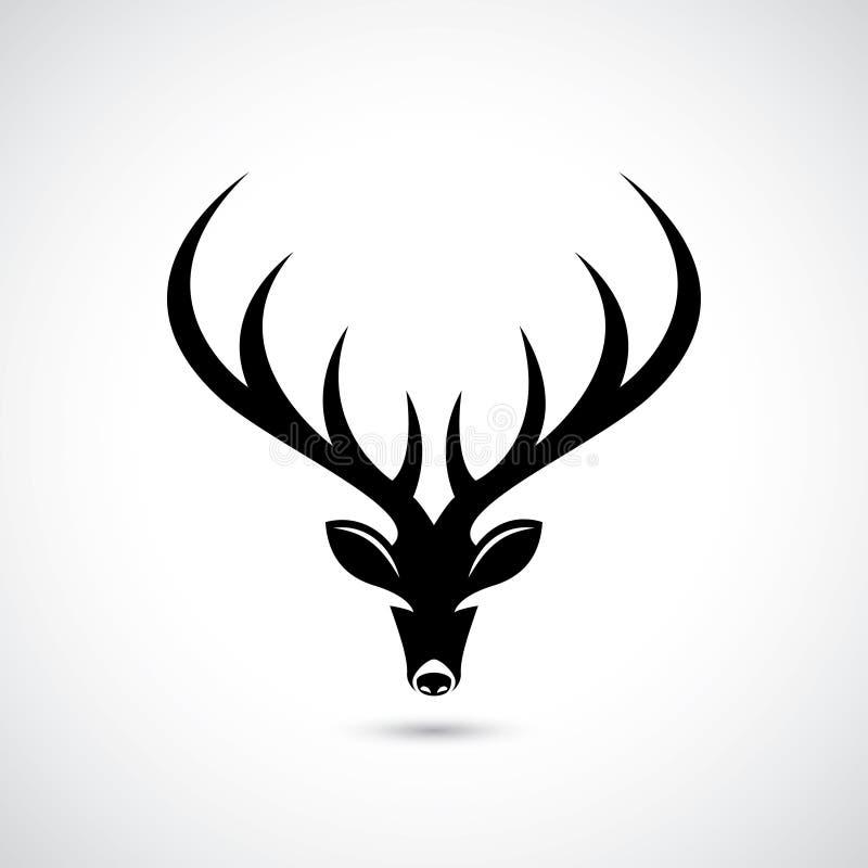 鹿标志-传染媒介例证 向量例证