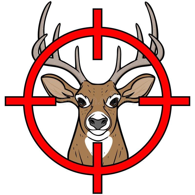 鹿狩猎 皇族释放例证