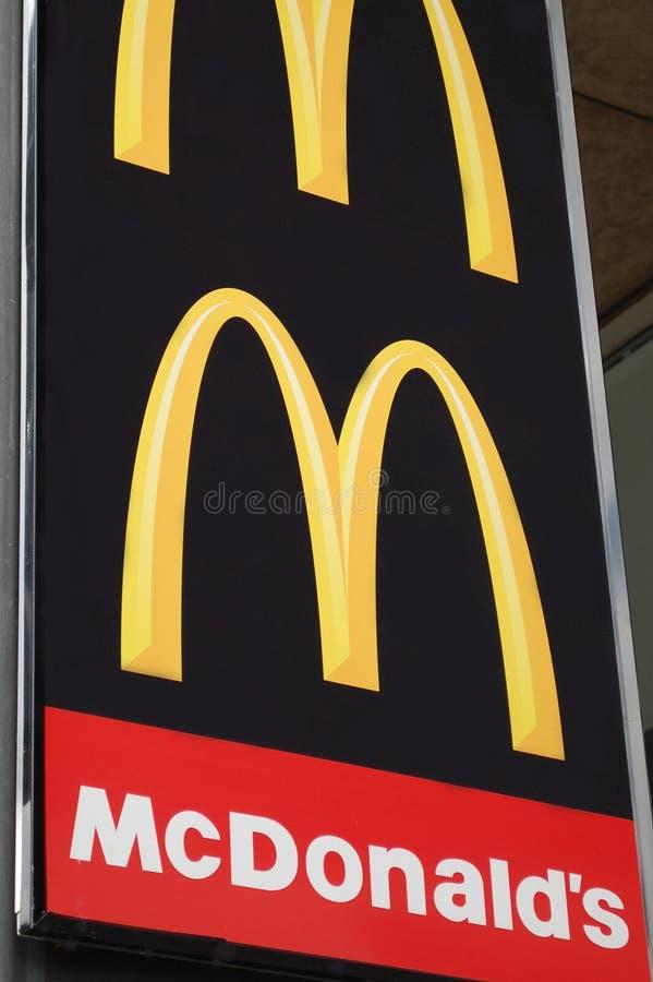 麦克唐纳s符号 库存图片