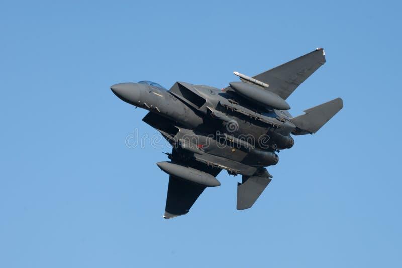 麦克当诺道格拉斯公司F-15老鹰 免版税库存图片