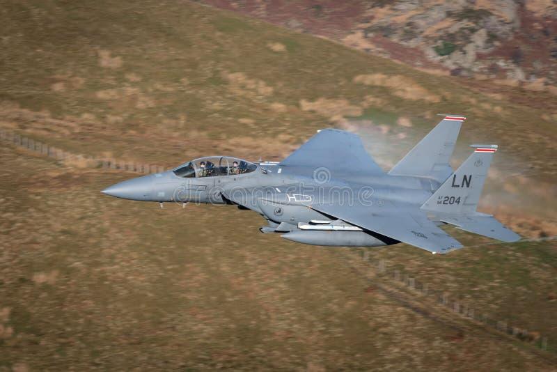 麦克当诺道格拉斯公司F-15老鹰 库存照片