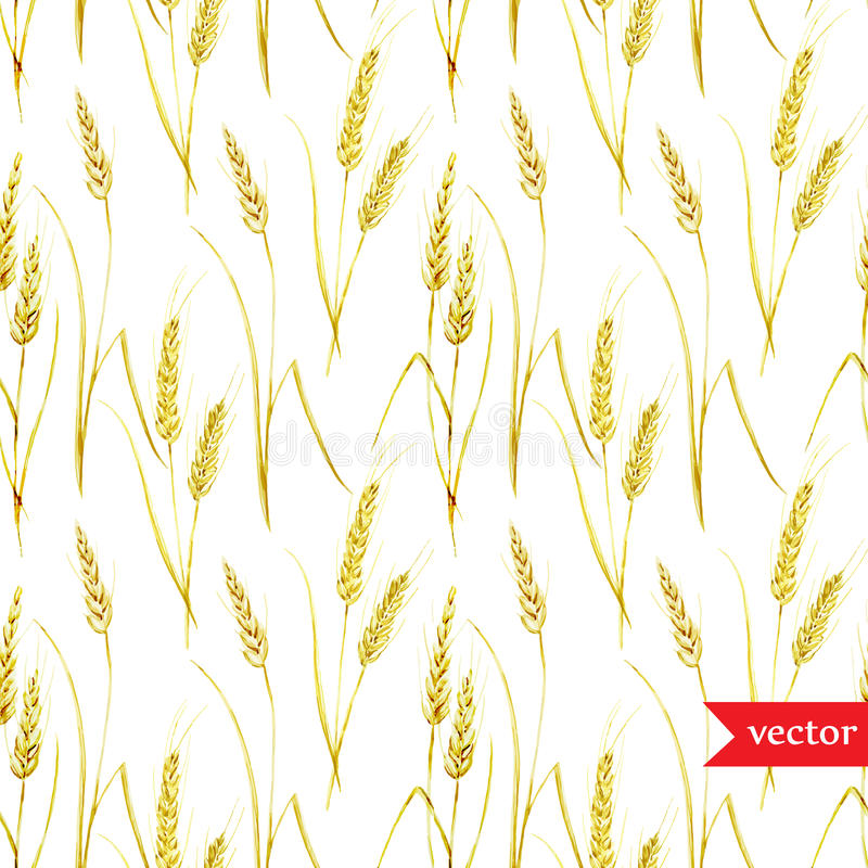 麦子样式 皇族释放例证