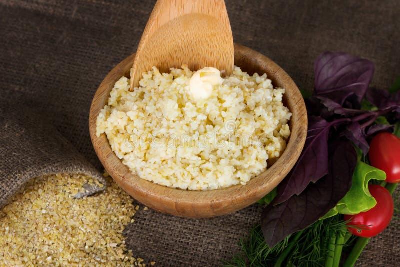 麦子沙粒 免版税库存照片