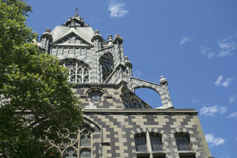 麦德林,哥伦比亚2015年7月25日 文化,了不起的建筑工作宫殿  图库摄影