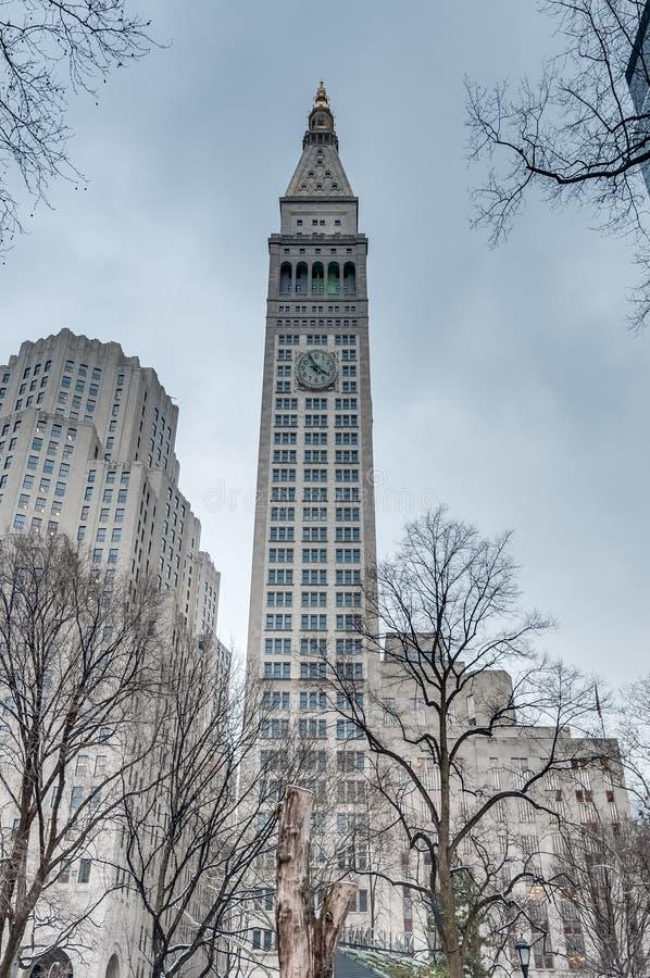 麦迪逊广场在纽约,美国 库存图片