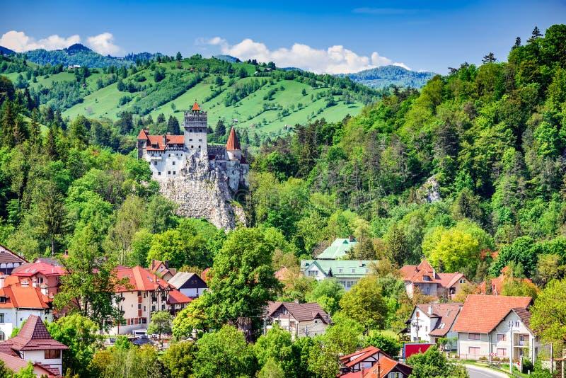 麸皮城堡,布拉索夫,特兰西瓦尼亚,罗马尼亚 免版税库存图片