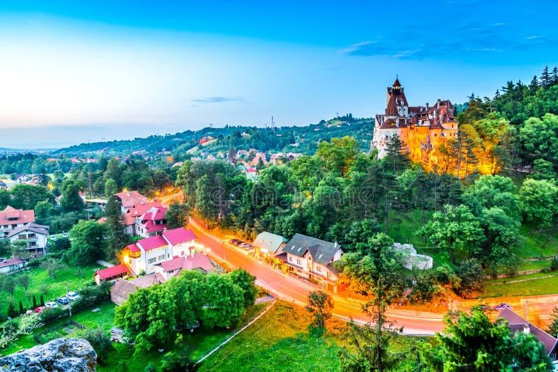 麸皮城堡,罗马尼亚,特兰西瓦尼亚 库存图片