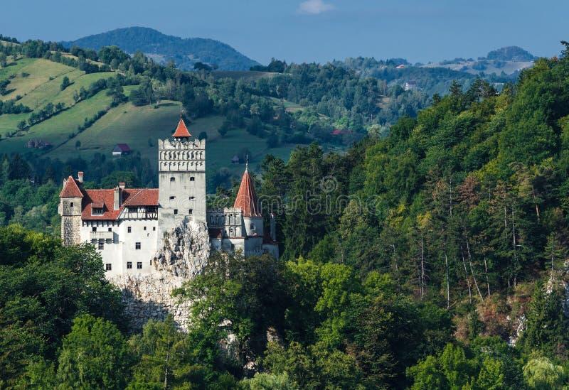 麸皮城堡, Transylvania中世纪地标  免版税库存照片