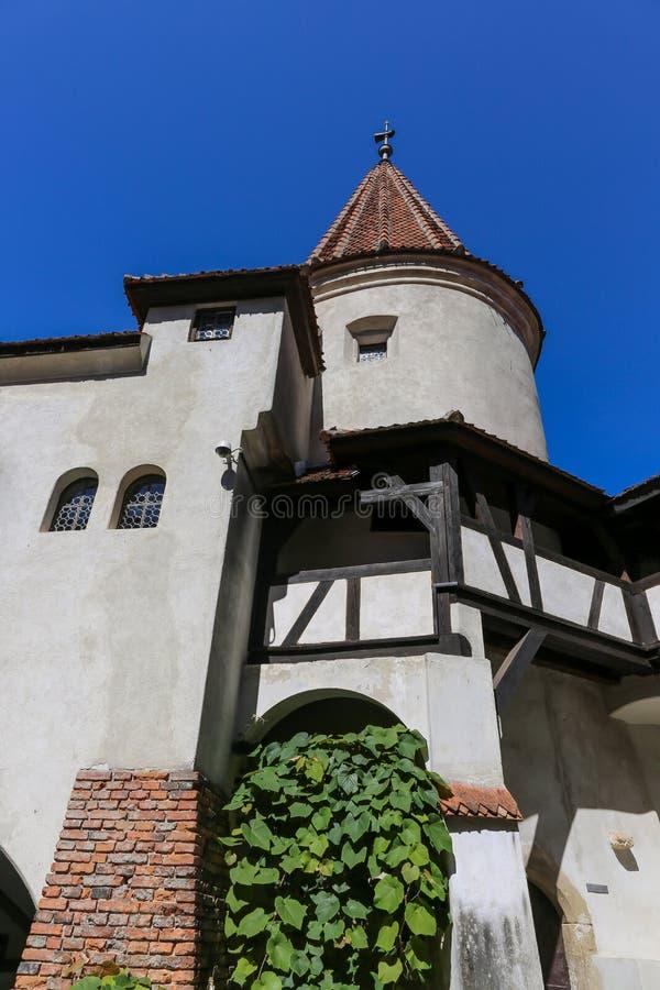 麸皮城堡-德雷库拉s城堡细节 图库摄影