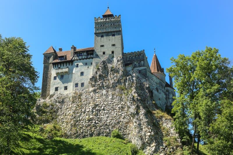 麸皮城堡-德雷库拉s城堡 库存照片