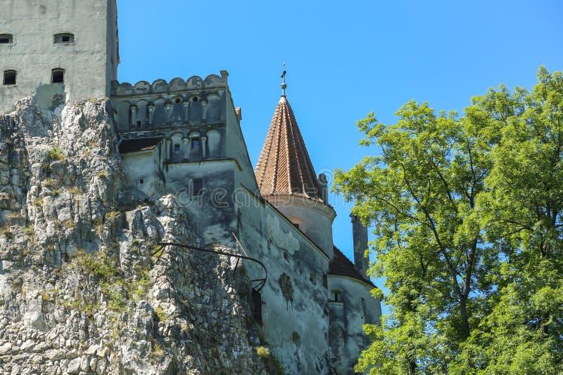 麸皮城堡-德雷库拉s城堡 图库摄影