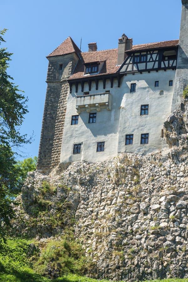 麸皮城堡-德雷库拉s城堡 库存图片