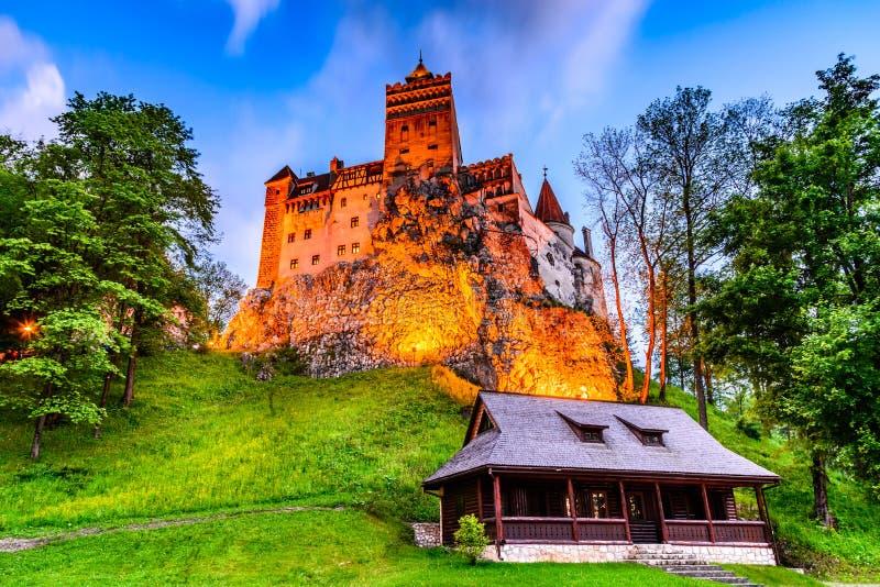 麸皮城堡-特兰西瓦尼亚,罗马尼亚 免版税库存图片