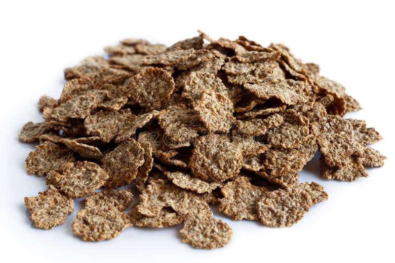 麸皮早餐食品麦子 免版税库存照片