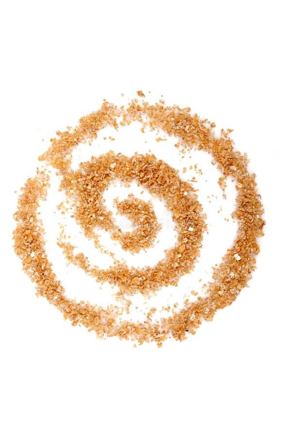 麸皮麦子 免版税库存图片