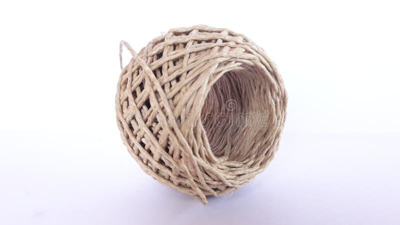 麻线球 免版税库存图片