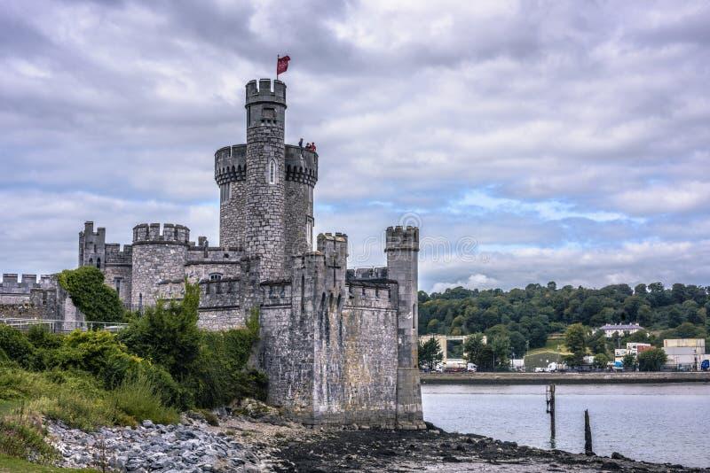 黄柏,爱尔兰- 2018年8月29日:Blackrock城堡 免版税库存照片