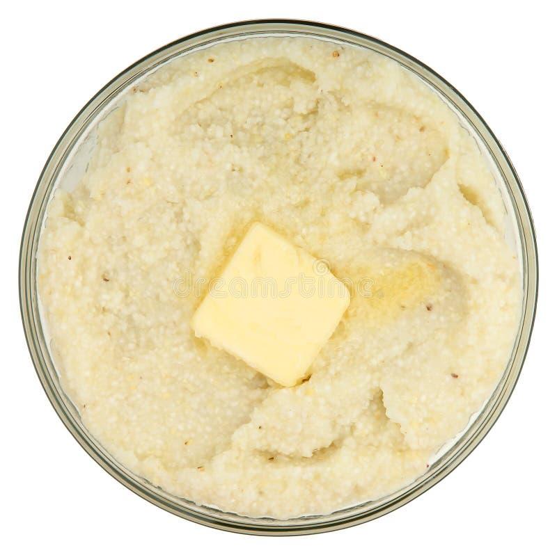 黄油沙粒 免版税库存照片