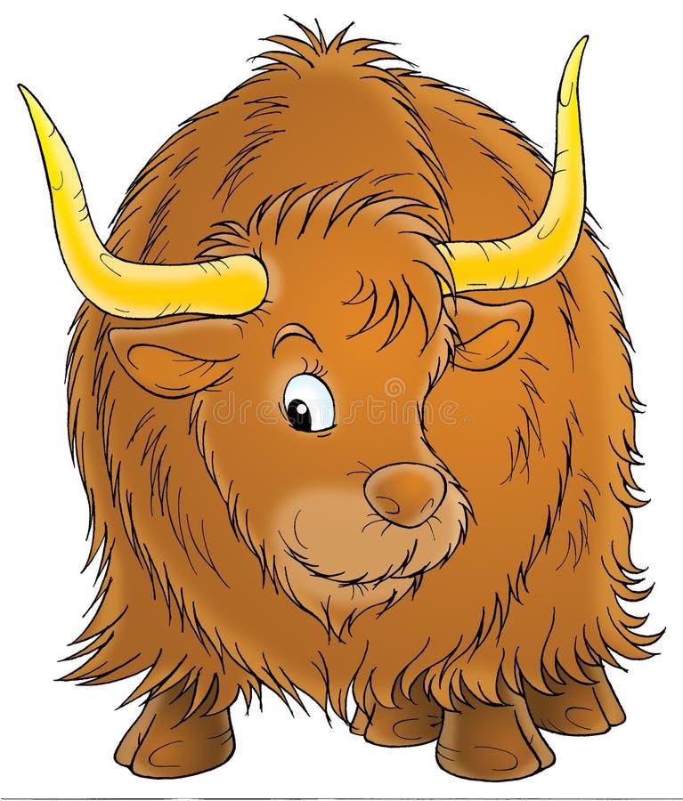 黄牛 向量例证