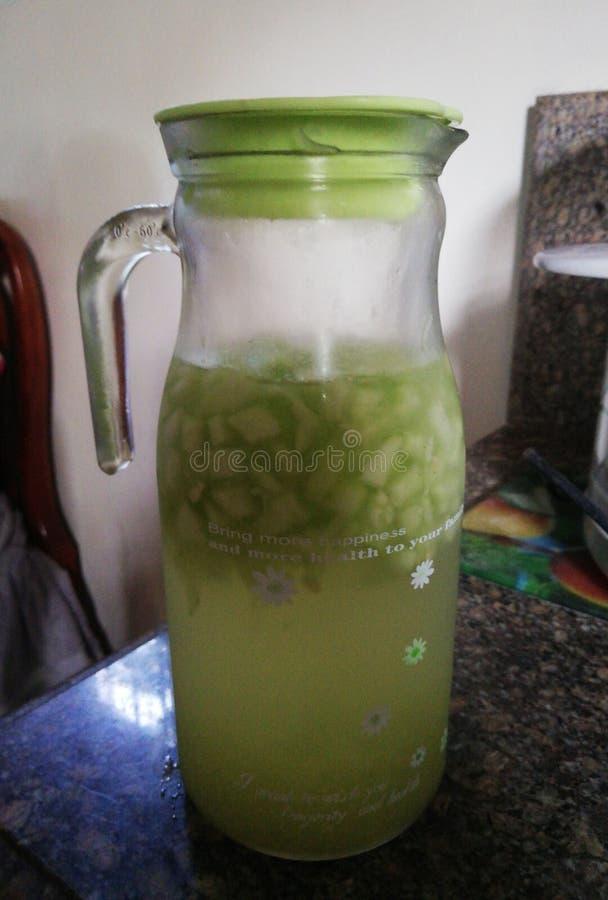 黄瓜汁 库存照片