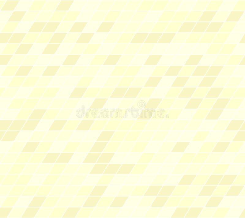 黄色平行四边形样式 1866根据Charles Darwin演变图象无缝的结构树向量 库存例证