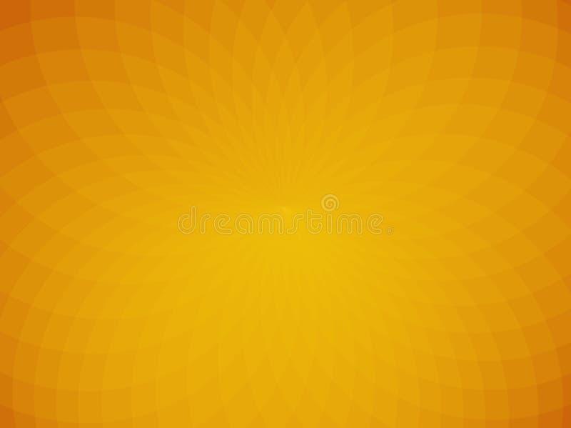 黄色抽象背景 向量 向量例证
