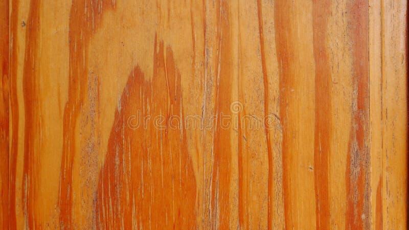 黄色木墙壁背景,硬木纹理,老木头 库存照片