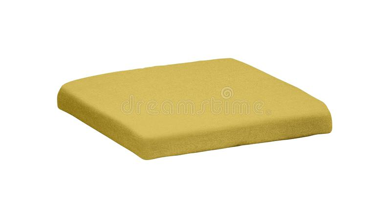 黄色枕头 免版税图库摄影
