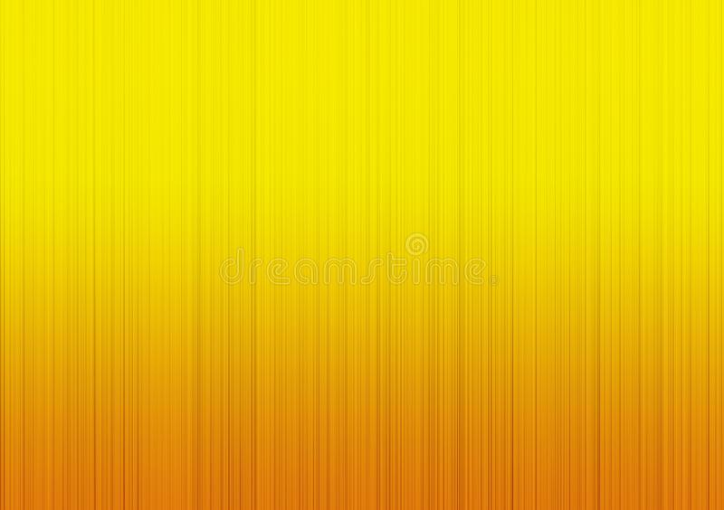 黄色梯度线性背景墙纸设计 向量例证