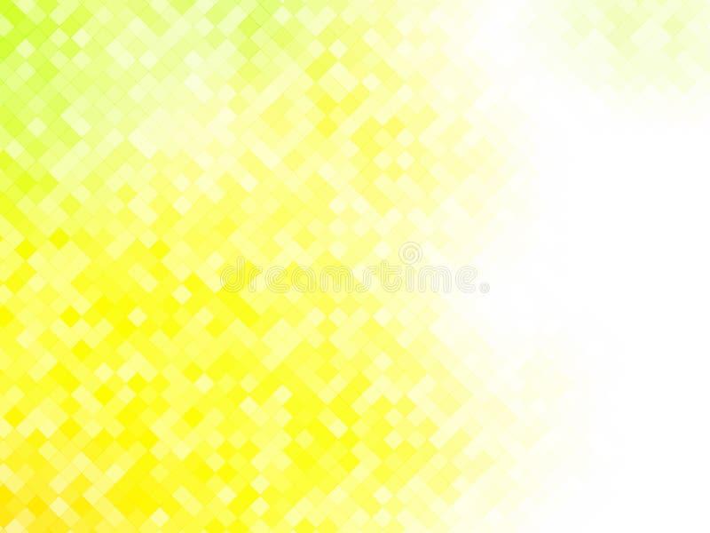 黄色瓦片摆正了样式 皇族释放例证
