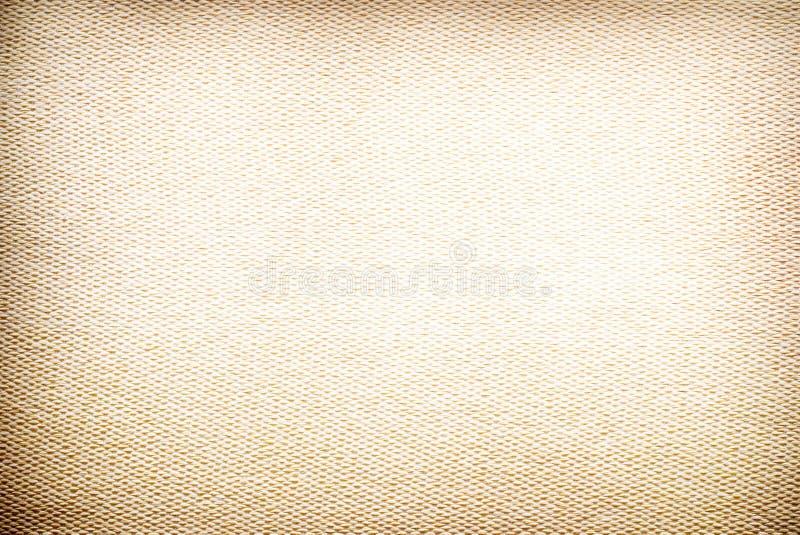 黄色的接近的织品纹理 库存照片
