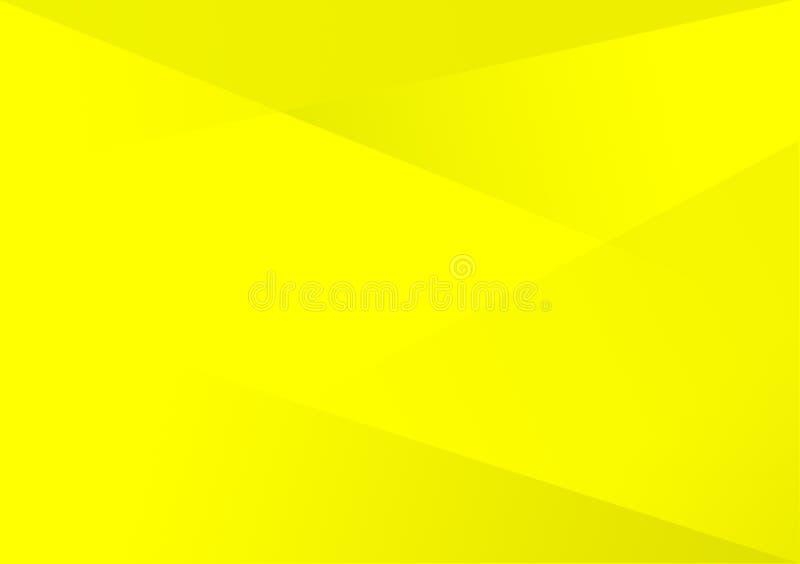 黄色线性形状背景梯度背景 皇族释放例证