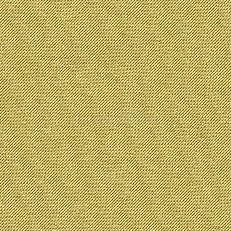 黄色织品无缝的纹理 3d和第2的纹理地图 免版税库存照片