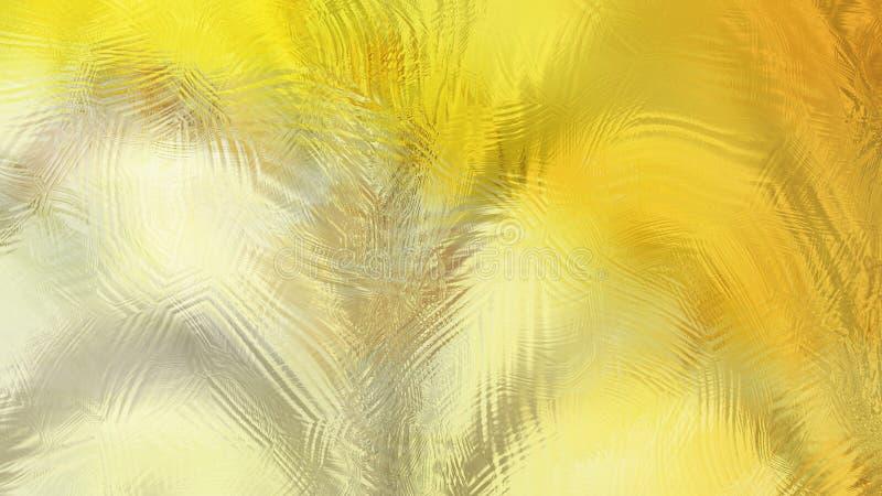 黄色羽毛厂背景美好的典雅的例证形象艺术设计背景 皇族释放例证