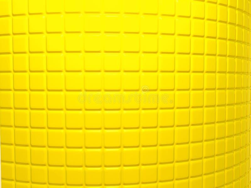 黄色被吹奏的样式有用作为背景 向量例证