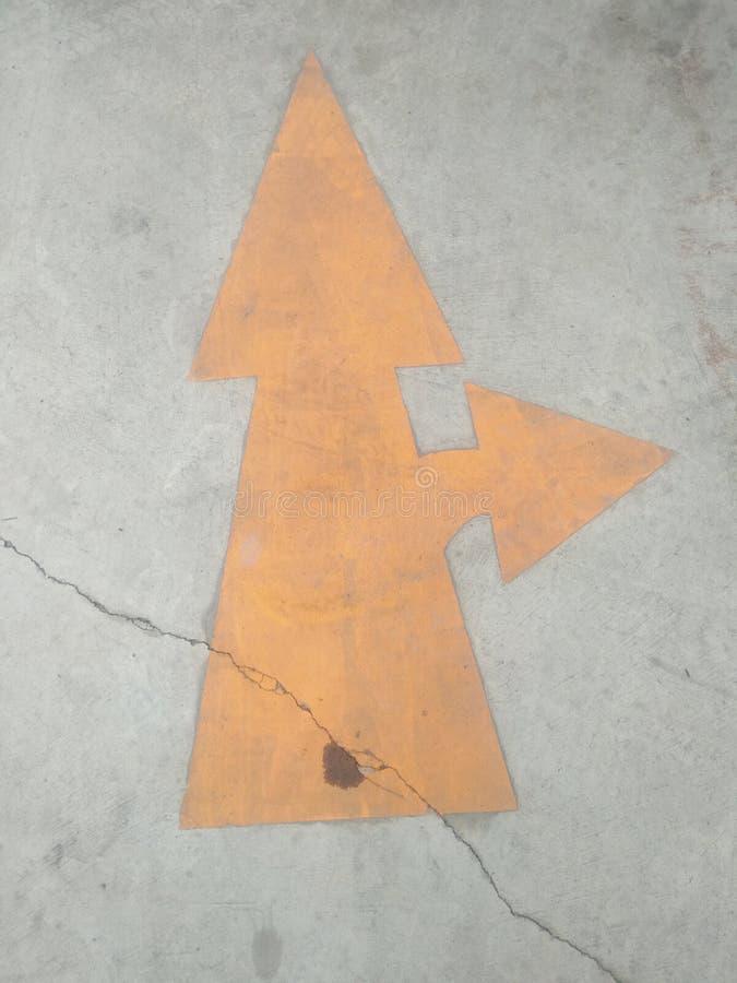 黄色路线 图库摄影