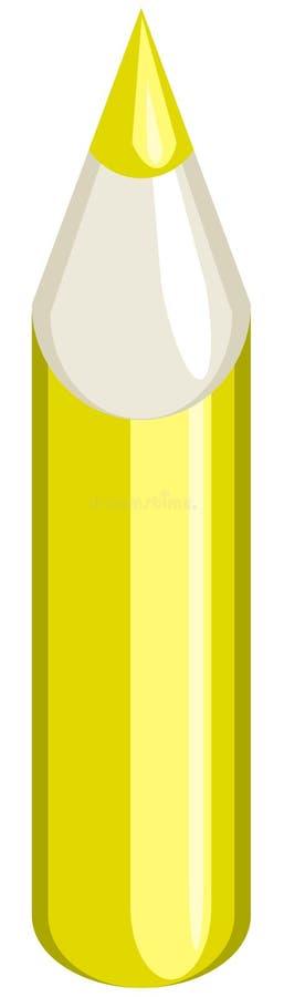 黄色铅笔 免版税库存照片