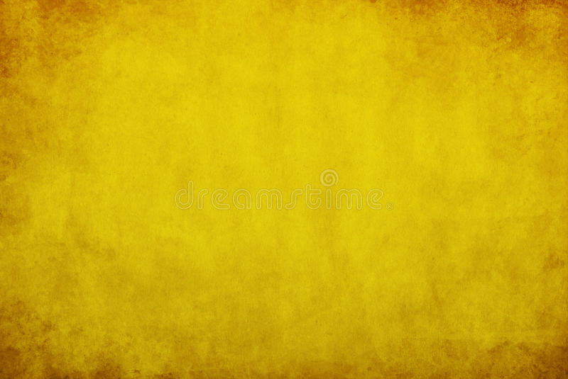 黄色grunge背景 库存例证