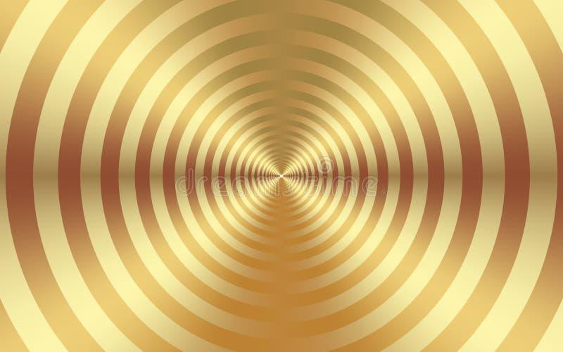 黄金入球抽象背景 创造性的设计的金织地不很细背景 向量例证