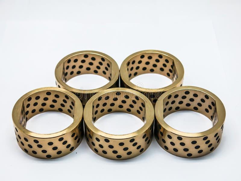 黄铜灌木油设备 库存照片