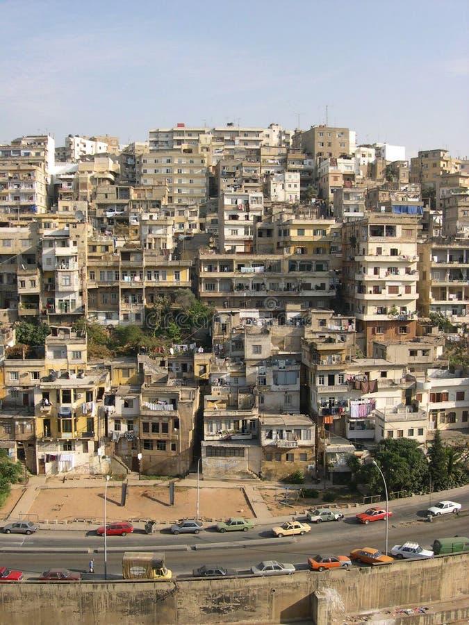 黎巴嫩城镇 库存照片