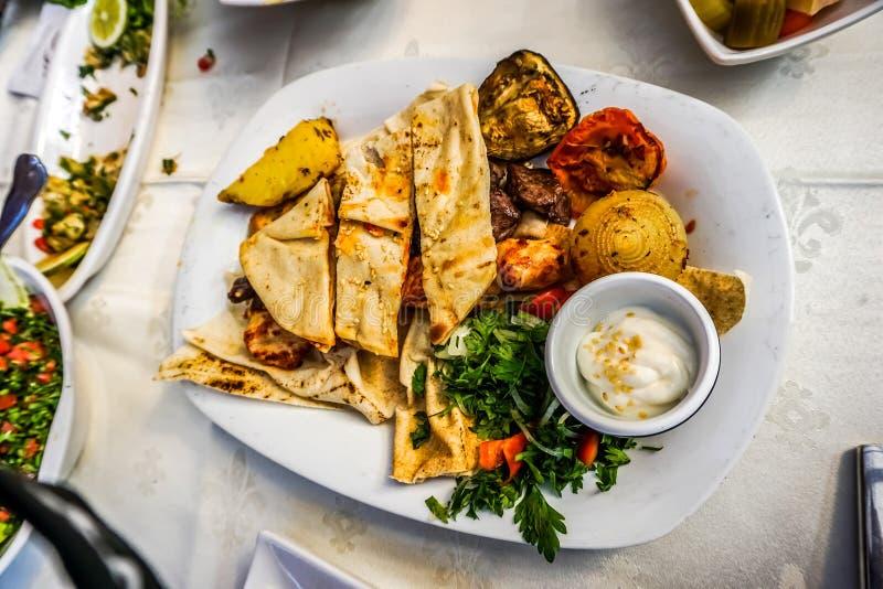 黎巴嫩烤肉01 库存图片