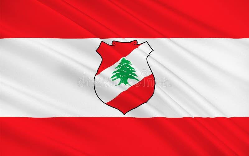 黎巴嫩的标志 免版税库存图片