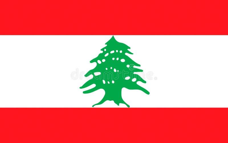 黎巴嫩的标志 免版税库存照片