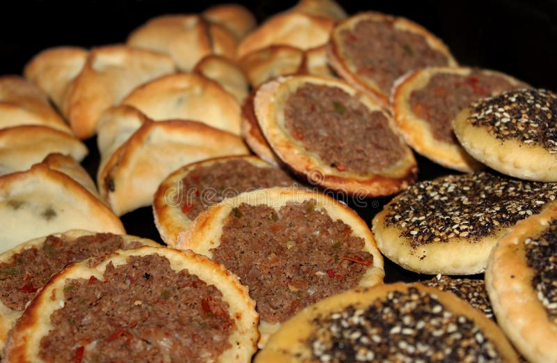 黎巴嫩食物 库存图片