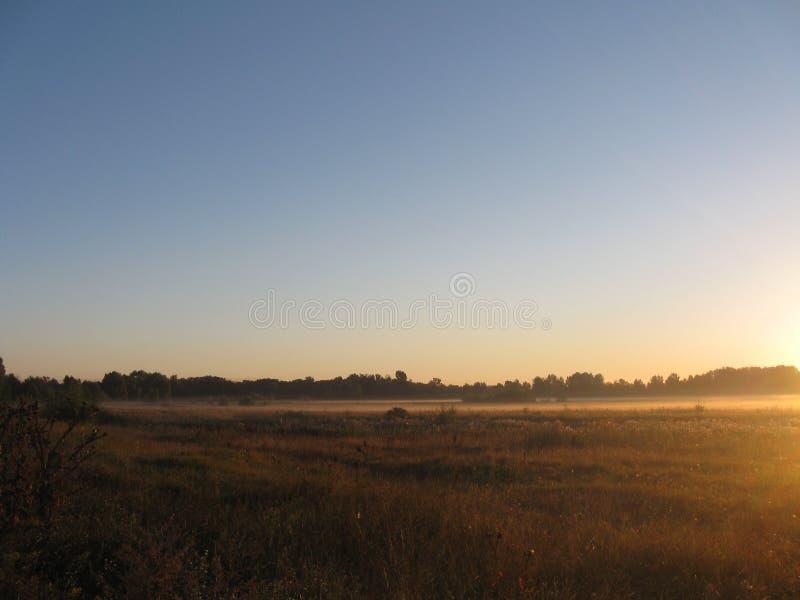 黎明在乌克兰 图库摄影