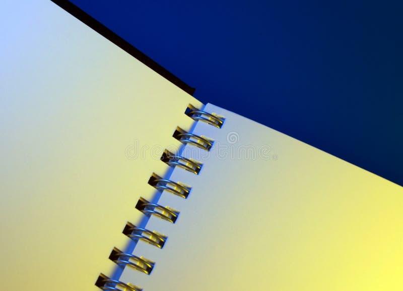 黏合剂书投资组合环形 免版税库存图片