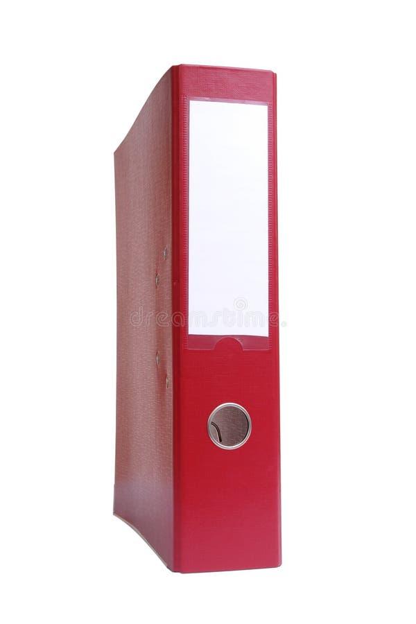 黏合剂红色环形 库存照片