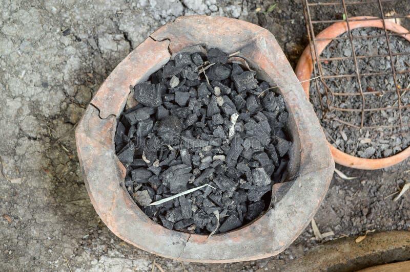 黏土火炉 免版税库存照片
