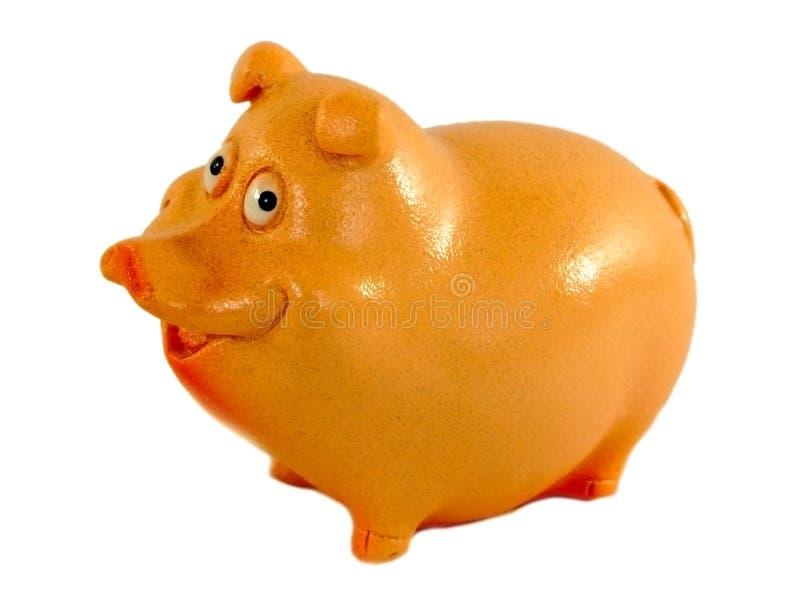 黏土猪,猪的年在中国日历的 免版税图库摄影